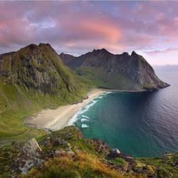 Пазл онлайн: Пляжи Норвегии