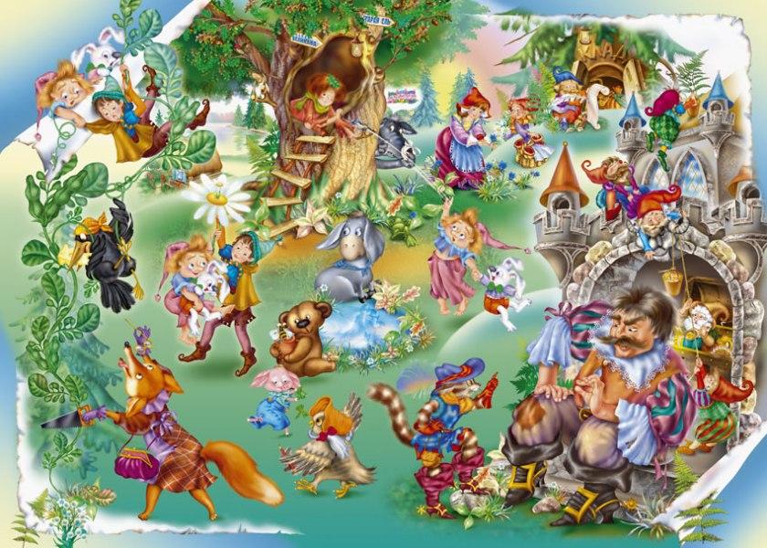 любимые герои сказок картинки ехидны покрыто