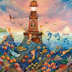 Пазл онлайн: Русалочий рай