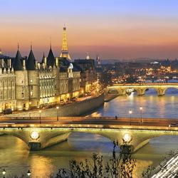 Пазл онлайн: Мосты Парижа