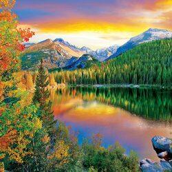 Пазл онлайн: Медвежье озеро