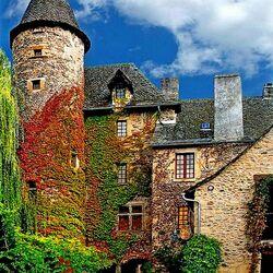 Пазл онлайн: Коммуна Sainte Eulalie d'Olt Франция