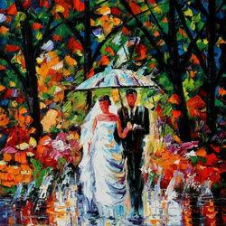 Пазл онлайн: Осенняя свадьба