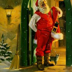 Пазл онлайн: Из жизни Санта-Клауса