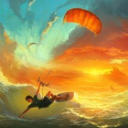 Пазл онлайн: Повелители ветра