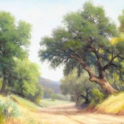 Пазл онлайн: Дорога среди холмов