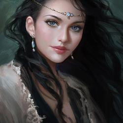 Пазл онлайн: Принцесса Лорелай