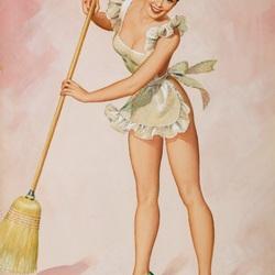 Пазл онлайн: Уборка