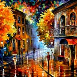 Пазл онлайн: Осень в городе
