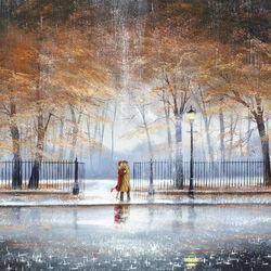 Пазл онлайн: В объятиях дождя
