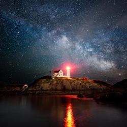 Пазл онлайн: Свет маяка