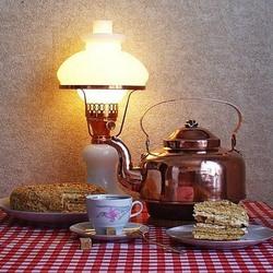 Пазл онлайн: Приглашение к чаю