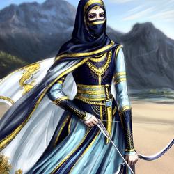 Пазл онлайн: Персидский воин