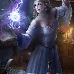 Пазл онлайн: Эми Грэйн - мастер белой магии
