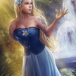 Пазл онлайн: Принцесса Фия