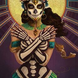 Пазл онлайн: День Мёртвых