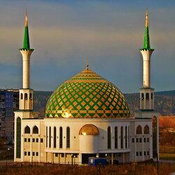 Пазл онлайн:  Мечеть в Кемерово