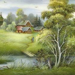 Пазл онлайн: Пейзажи России
