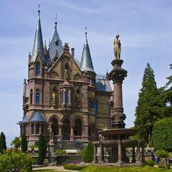 Пазл онлайн: Драхенбургский замок