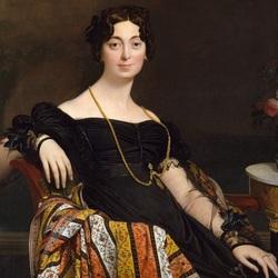 Пазл онлайн: Мадам Жакелль Луи Леблан