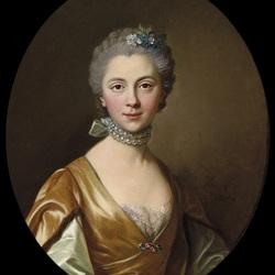 Пазл онлайн: Портрет элегантной дамы