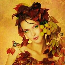 Пазл онлайн: Леди Осень