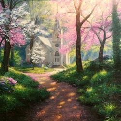 Пазл онлайн: Церковь