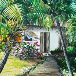 Пазл онлайн: Уютный дом