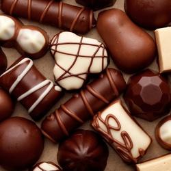 Пазл онлайн: Шоколадное ассорти