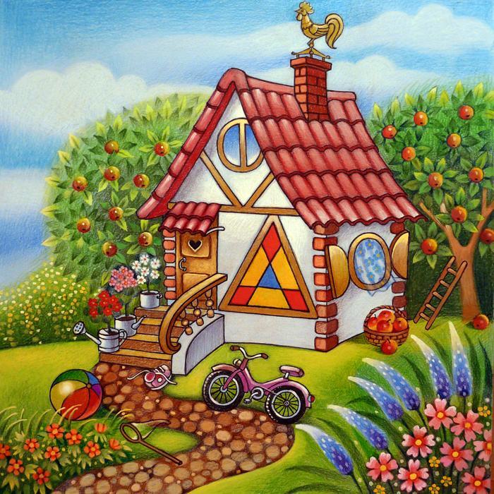 Дом-домик картинки для детей
