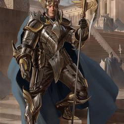 Пазл онлайн: Рыцарь