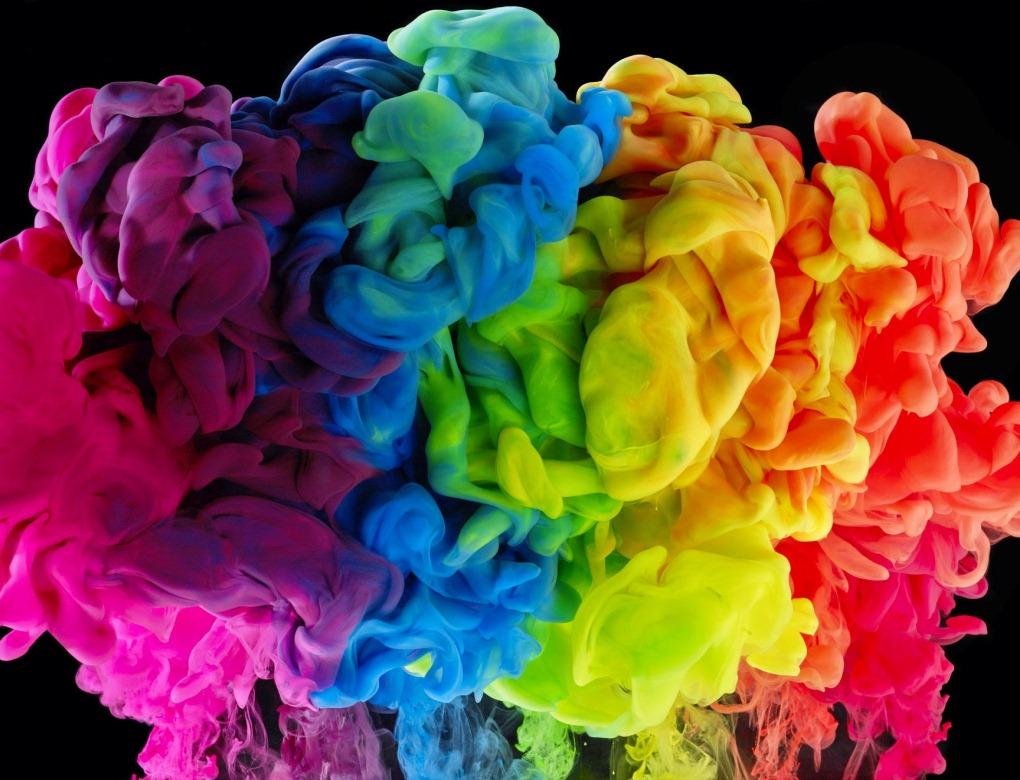 фото подборку самые красивые картинки краски конкуренции было