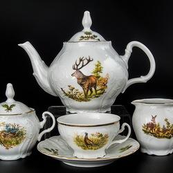 Пазл онлайн: Чайный сервиз