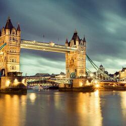 Пазл онлайн: Тауэрский мост  Лондон