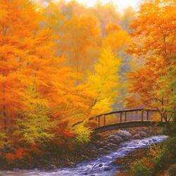 Пазл онлайн: Осенний покой