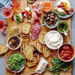 Пазл онлайн: Готовим закуску