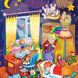 Пазл онлайн: Сказки на ночь