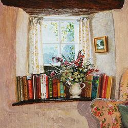 Пазл онлайн: Уютное окно