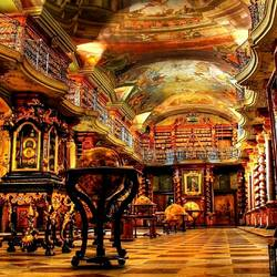 Пазл онлайн: Национальная библиотека Чешской Республики