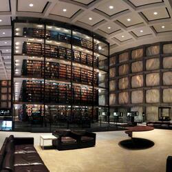 Пазл онлайн: Библиотека редких книг и рукописей Бейнеке