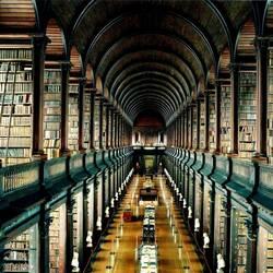Пазл онлайн: Библиотека Тринити-колледжа
