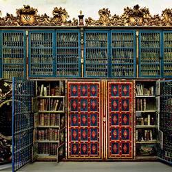 Пазл онлайн: Библиотека университета Саламанки