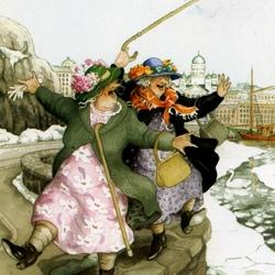 Пазл онлайн: С ледоходом!