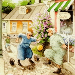 Пазл онлайн: Неудержимые бабульки