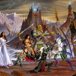 Пазл онлайн: Магическая битва