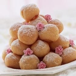 Пазл онлайн: Пончики в пудре