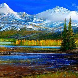 Пазл онлайн: Alaska/Аляска