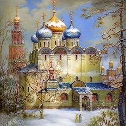 Пазл онлайн: Купола России