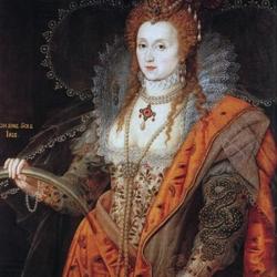 Пазл онлайн:  Портрет с радугой королевы Елизаветы I