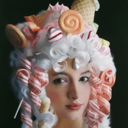 Пазл онлайн: В сладком парике